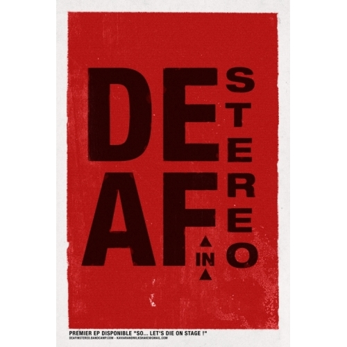Affiche Deaf in Stereo